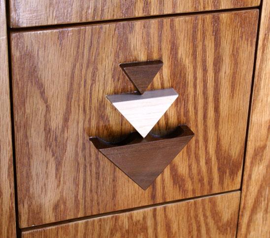Audio video cabinet for Door design with groove